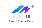 EasyUI美化皮肤主题大包Insdep UI Theme V2.1.4最新版