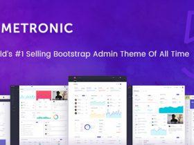 2018官方授权完整Metronic V5.2最新版 Bootstrap4 HTML5响应式后台管理模板