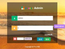 FH Admin  javaEE完整项目源码 主流Java后台SSM框架源码